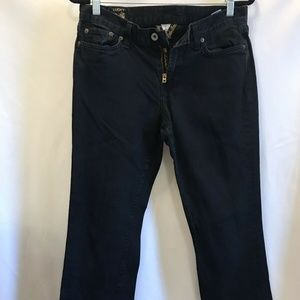 Lucky Brand Jeans Womens Classic Ride Black 8/29
